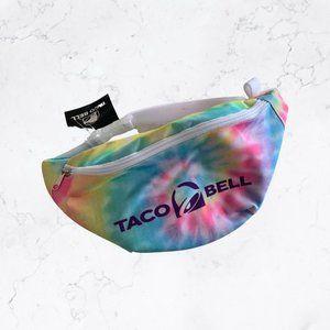 TACO BELL Tie Dye Waist Bag Fanny Pack NEW
